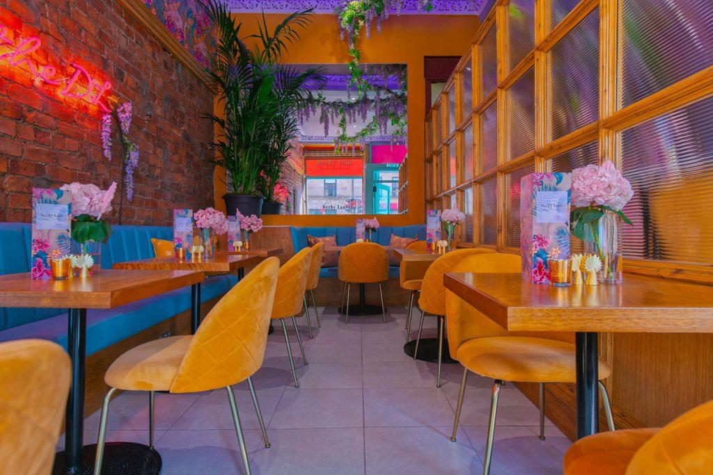 Derby Lane dining area