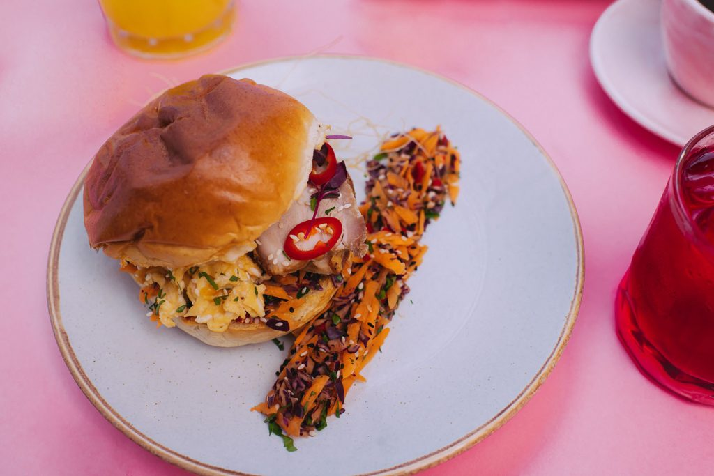 Chicken sandwich